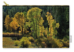 Morning Cottonwoods Carry-all Pouch
