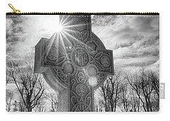 Carry-all Pouch featuring the photograph Morning Cross by Guy Whiteley