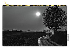 Morning Dew Bw Carry-all Pouch