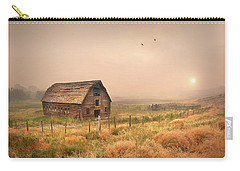 Carry-all Pouch featuring the photograph Morning Flight by John Poon