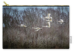 Morning Flight Of Tundra Swan Carry-all Pouch