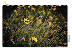 Carry-all Pouch featuring the photograph Morning Flowers by Kelly Wade