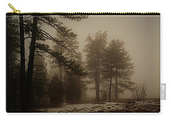 Carry-all Pouch featuring the photograph Morning Fog by Broderick Delaney