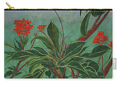 Morning Fog In The Garden Carry-all Pouch