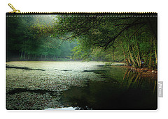 Carry-all Pouch featuring the photograph Morning Fog by Okan YILMAZ
