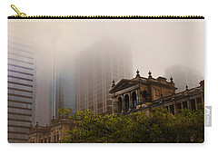 Morning Fog Over The Treasury Carry-all Pouch