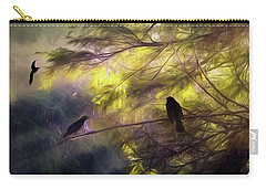 Morning Forest Light Carry-all Pouch