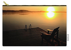 Morning Glory At The Lake Carry-all Pouch