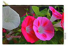 Morning Glory Banner Carry-all Pouch