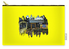 Carry-all Pouch featuring the photograph Morning Glory Cafe Ashland by Thom Zehrfeld