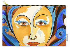 Morning Glory Goddess Carry-all Pouch
