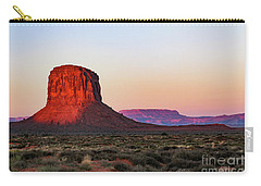 Morning Glory In Monument Valley Carry-all Pouch