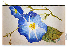 Morning Glory Carry-all Pouch