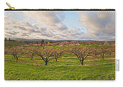 Morning Glory Orchards Carry-all Pouch by Angelo Marcialis