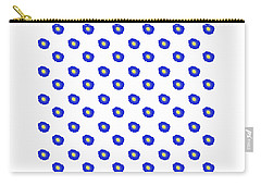 Morning Glory Pattern Carry-all Pouch