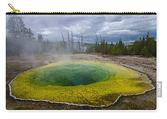 Carry-all Pouch featuring the photograph Morning Glory Pool by Gary Lengyel