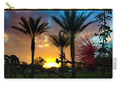 Carry-all Pouch featuring the photograph Morning Glow by Chris Tarpening
