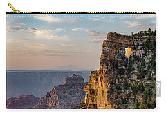 Carry-all Pouch featuring the photograph Morning Glow On Angels Window by Gaelyn Olmsted