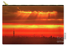 Carry-all Pouch featuring the photograph Morning Glow by Tatsuya Atarashi