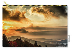 Morning Highland Scenic Highway Carry-all Pouch by Thomas R Fletcher