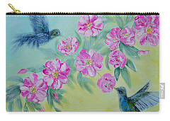 Morning In My Garden. Special Collection For Your Home Carry-all Pouch by Oksana Semenchenko