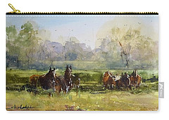 Morning In The Pasture Carry-all Pouch