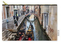 Morning In Venice In Winter Carry-all Pouch