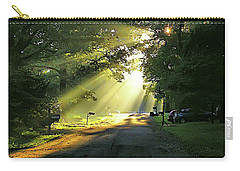 Carry-all Pouch featuring the photograph Morning Light by Brian Wallace