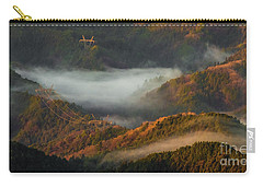 Carry-all Pouch featuring the photograph Morning Light by Tatsuya Atarashi