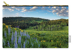 Morning Meadow Carry-all Pouch