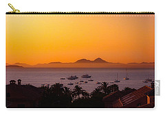 Carry-all Pouch featuring the photograph Morning Mist by Scott Carruthers