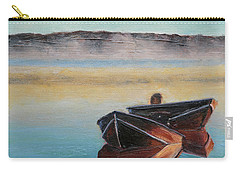 Morning Mist Carry-all Pouch by Trina Teele