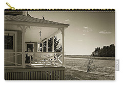 Carry-all Pouch featuring the photograph Morning On The Marsh by Samuel M Purvis III