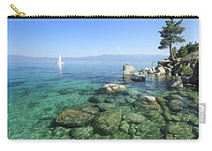 Carry-all Pouch featuring the photograph Morning On The Water by Sean Sarsfield