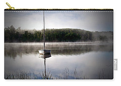 Morning On White Sand Lake Carry-all Pouch by Lauren Radke
