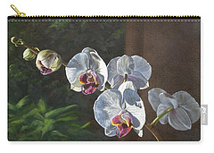 Morning Phaleanopsis Carry-all Pouch