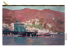 Morning Pleasures - Catalina Harbor Carry-all Pouch