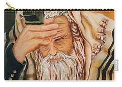 Morning Prayer Carry-all Pouch by Itzhak Richter