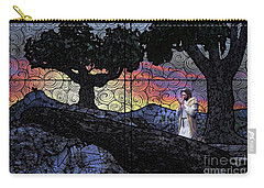 Carry-all Pouch featuring the painting Morning Prayer Transcendent by Dave Luebbert