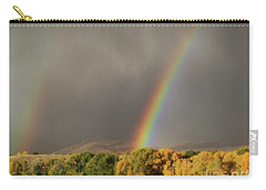 Morning Rainbow In Wyoming Carry-all Pouch