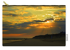 Morning Rays Over Cape Cod Carry-all Pouch by Dianne Cowen