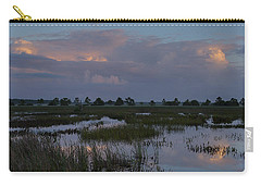 Morning Reflections Over The Wetlands Carry-all Pouch