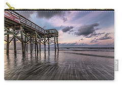 Morning Rush Isle Of Palms Carry-all Pouch