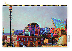 Morning Rush - The Corner Of Salem Avenue And Williamson Road In Roanoke Virginia Carry-all Pouch
