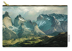 Carry-all Pouch featuring the photograph Morning Shadows by Andrew Matwijec
