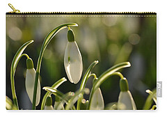 Morning Snowdrops Carry-all Pouch