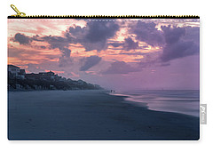 Morning Stroll On The Beach Carry-all Pouch