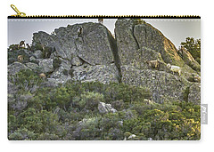Morning Sun Lit Rocky Hill Greece Carry-all Pouch