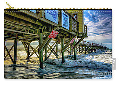 Morning Sun Under The Pier Carry-all Pouch