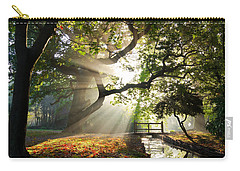 Morning Sunrise In Hampden Park Carry-all Pouch